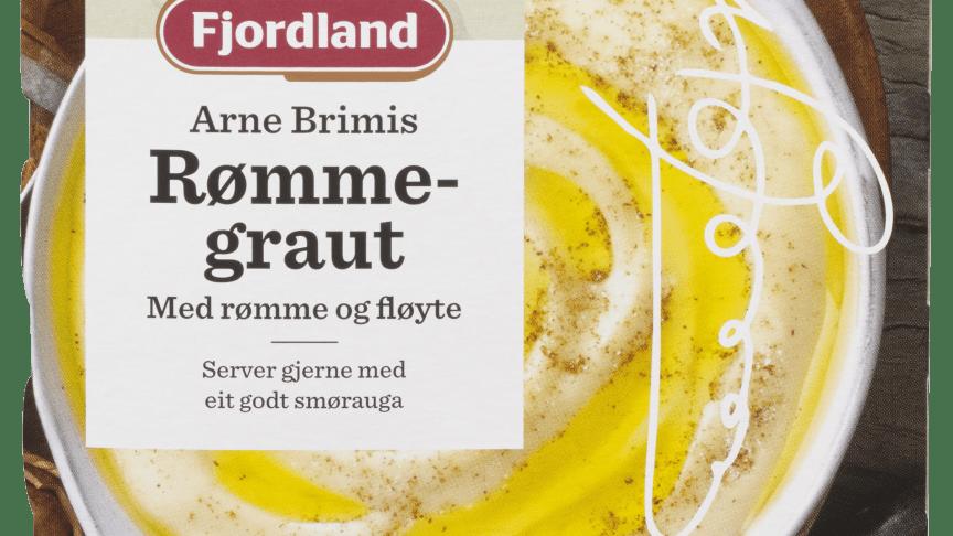 Premium rømmegrøt laget i samarbeid med Arne Brimi