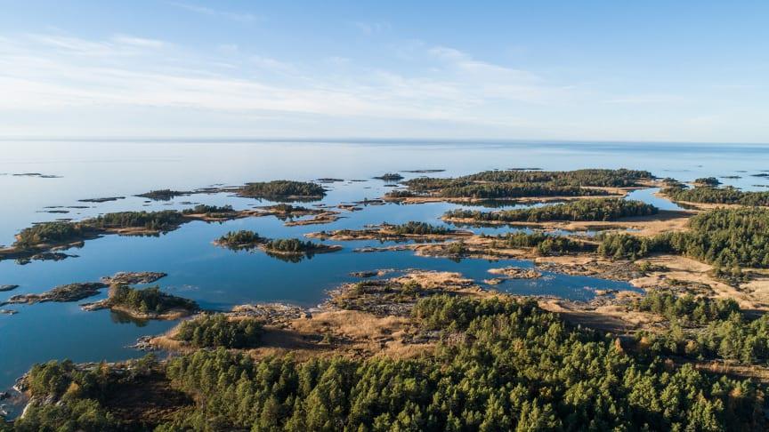 Tranebergsleden vid Vänern är en av många vandringsleder runt Vänern. Foto: Linnéa Gustafsson
