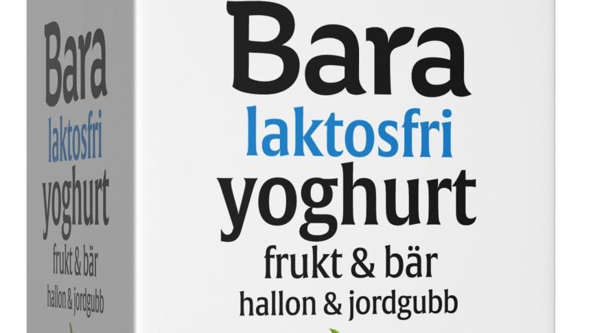 BARA laktosfri hallon och jordgubb