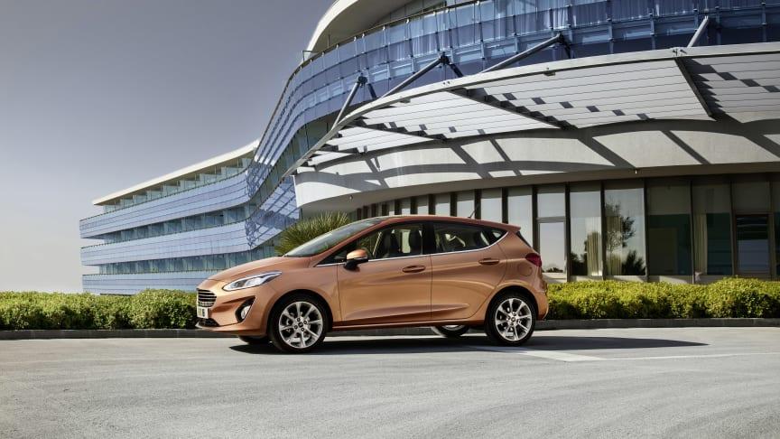 Ford Fiesta - Årets største nyhed i miniklassen