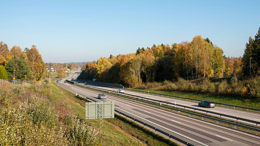 Trafikverket redovisade idag mycket positiva siffror för vägtrafikens klimatarbete