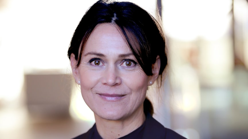 Helene Hjalmarson, prefekt för institutionen för Hälsovetenskaper vid Karlstads universitet