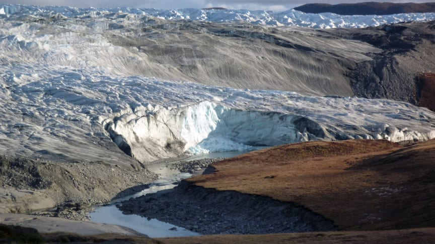 Kanten på den grönländska inlandsisen.