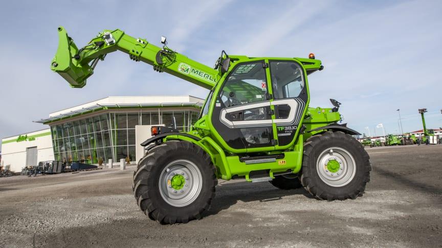 Merlo TF38.10 är en av storsäljarna i Sverige.