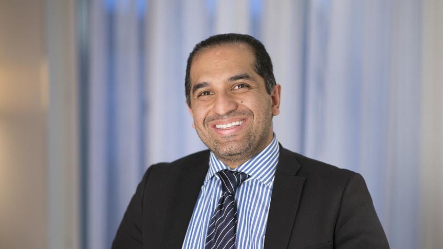Amir Chizari, CIO/CDO, Riksbyggen