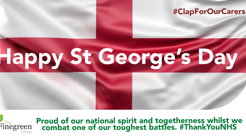 Happy St. George's Day everyone! 🏴