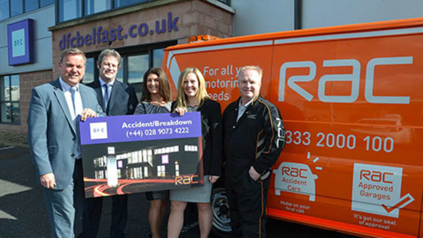 RAC Telematics technology standard on all vehicles for DFC