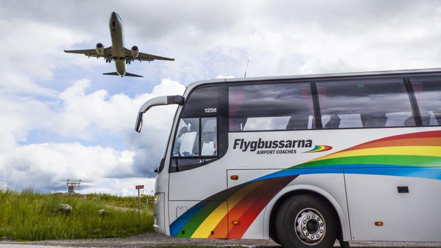 Transdev säljer Flygbussarna till Vy