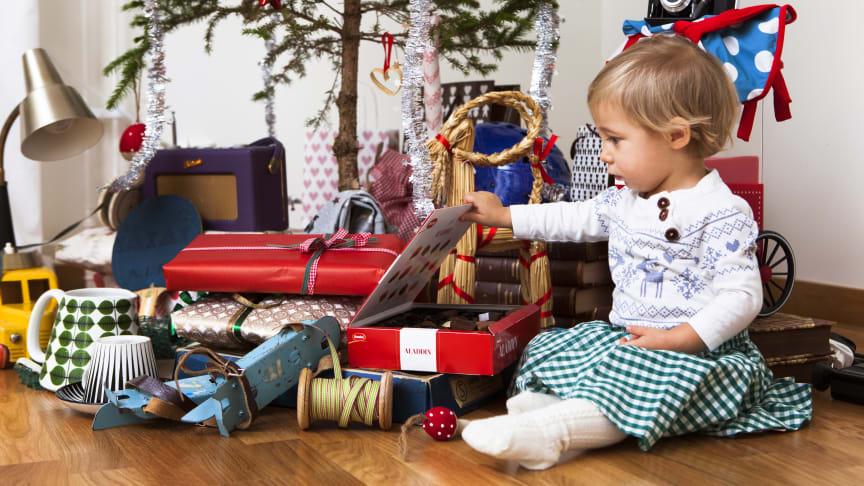 Den begagnade julen 2015: varannan svensk kan tänka sig att ge bort begagnat i jul