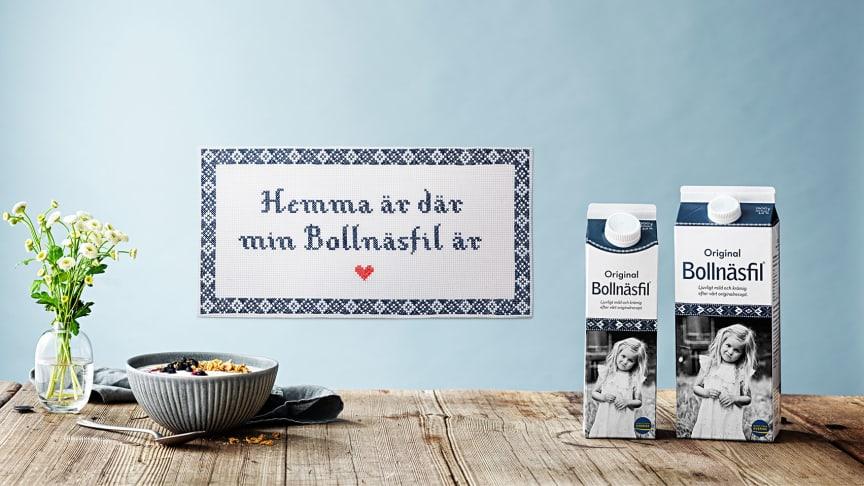 Hantverket bakom Bollnäsfil® förs fram i ny kommunikation