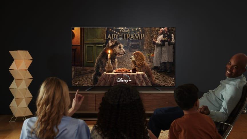 Disney+ arrive sur les téléviseurs Sony Android TV