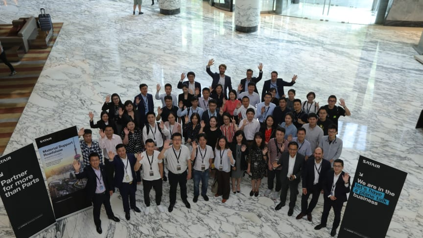 Participants at the Material Support Roadshow in Shanghai.