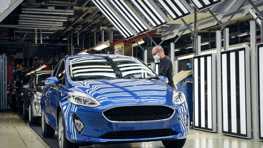 Újraindult a gyártás a Ford Európai gyáraiban