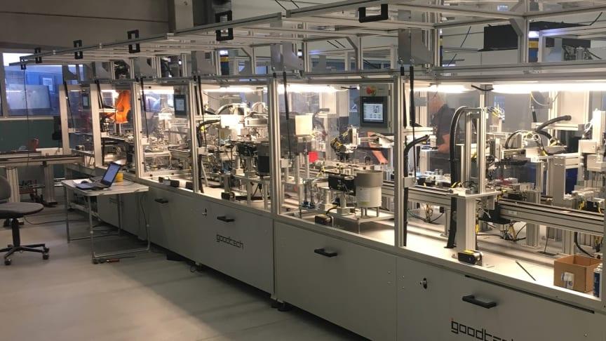 Goodtech automatiserer SEMs nye produksjonslinje