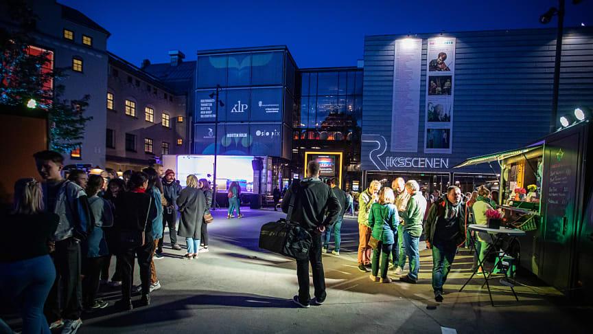 """Kulturnatt-torget"" på Schousplass/Kulturbryggeriet 2019 Foto: Per Ole Hagen"