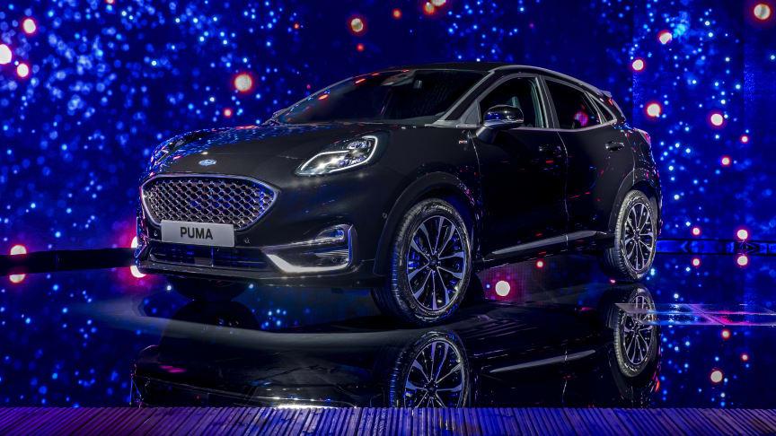 Ford Puma udvides med luksus, automatgear og dieselmotor