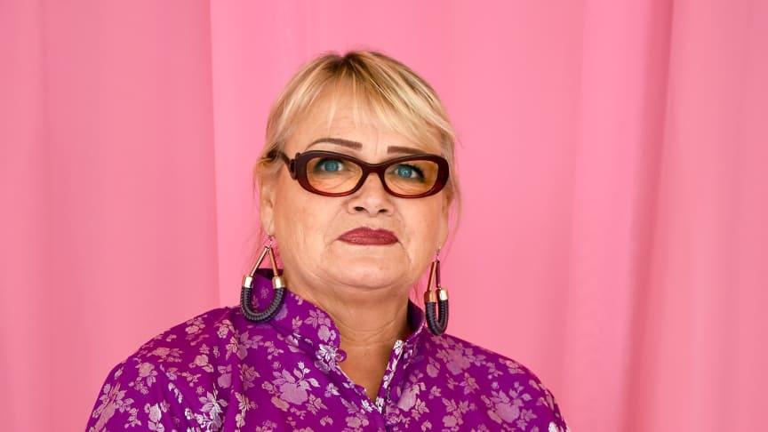 Soraya Post, svensk EU-parlamentariker för Feministiskt initiativ.