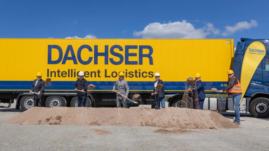 Spatenstich im DACHSER Logistikzentrum Erfurt