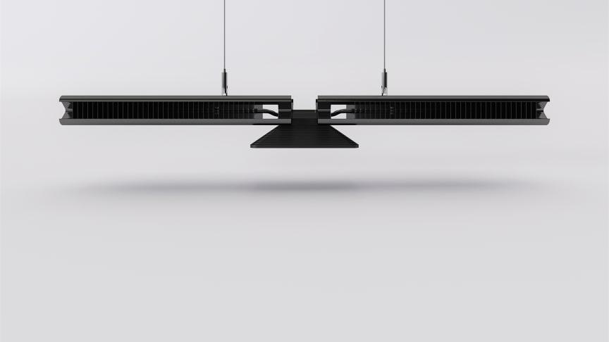 Cu-Beam™ suspended lights - Lyser i mer än 37 år. Bild 1.