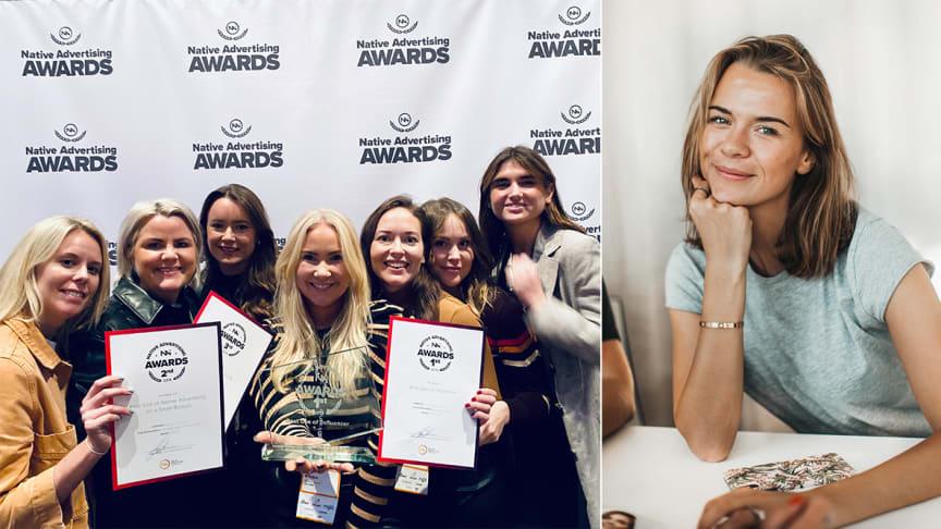 Aller media gör storslam i Native Awards - vinner fyra priser