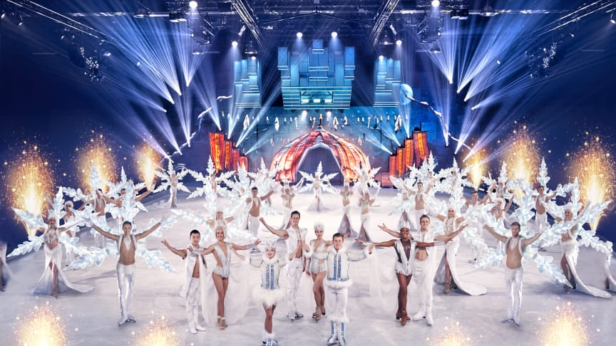 HOLIDAY ON ICE kommt mit Erfolgsshow SUPERNOVA – A journey to the stars nach Trier