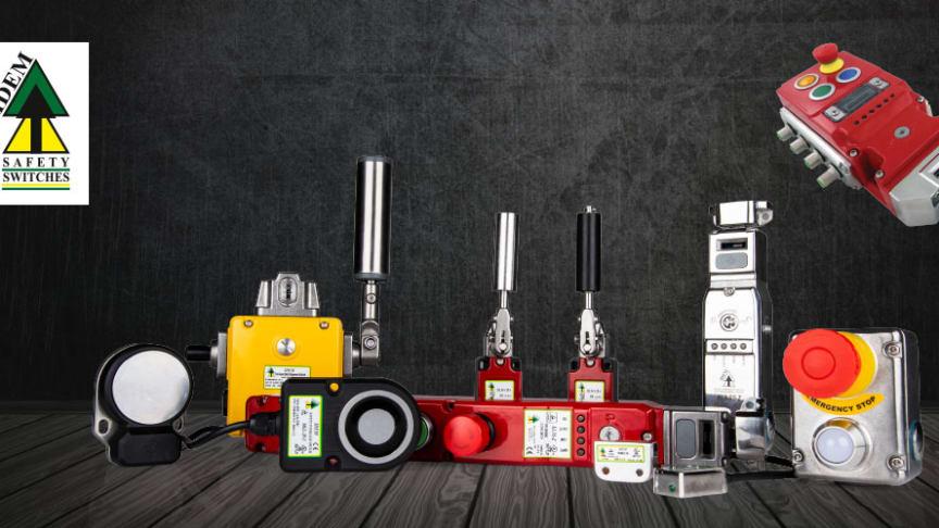 IDEM Safety har ett brett sortiment av säkerhetsprodukter med fokus på rostfritt, ATEX och låsbara handtag. De har stor erfarenhet av att arbeta nära maskin-byggare och ta fram kundunika produkter.