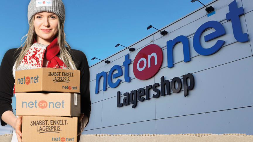 NetOnNet levererar julklapparna ända fram till da'n före doppareda'n i storstadsregionerna – men i Lagershopparna får medarbetarna vila på julafton