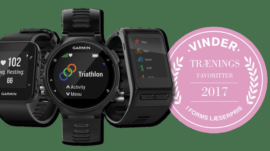Garmin vinder i tre produktkategorier