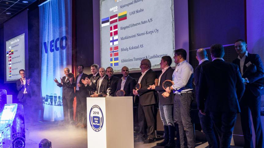 Kihlströms Transport & Lastbilscenter hade ett framgångsrikt år och lade beslag på de flesta utmärkelserna i Sverige.