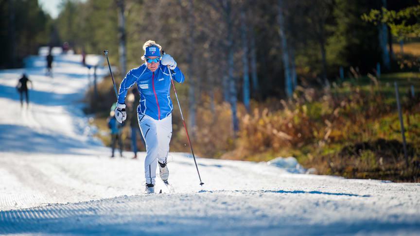 Trysil åpner 6,5 km med langrennsløyper 26. oktober. Foto: Hans Martin Nysæter