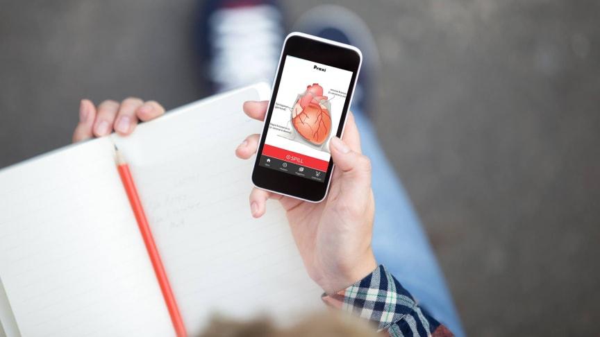 Praxi - ny app for sykepleierstudenter