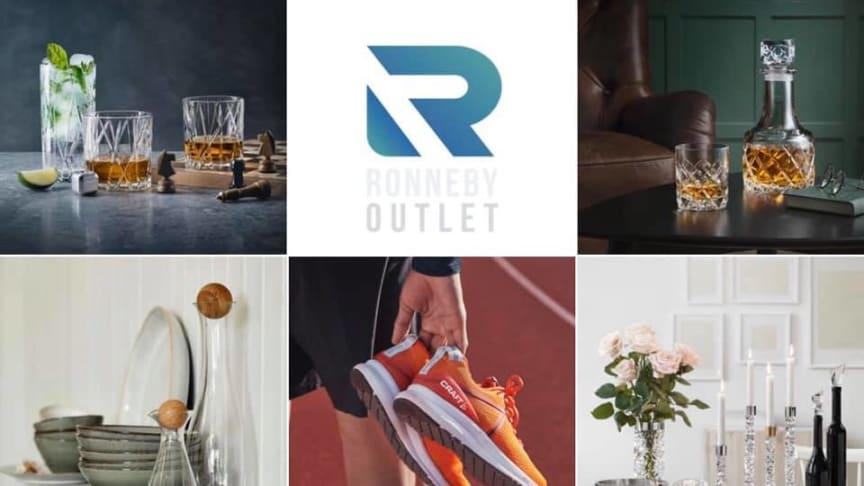 Ronneby Outlet öppnar med flera välkända varumärken