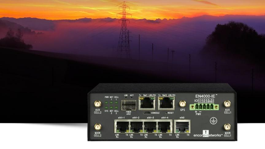Ny 4G router för samhällskritisk infrastruktur