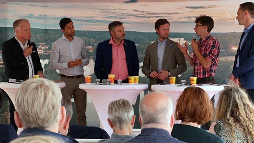 Bengt-Olof Isaksson,  Mosa Alasaly, Peter Helander, Simon Wancke, Karl Wennberg och Göran Bengtsson