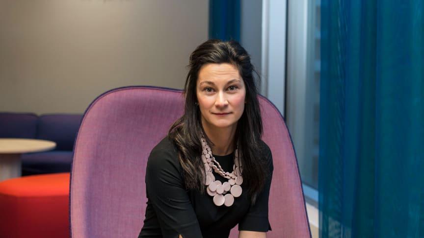 Matylda Lovenvall, chef för företagsaffären på Tre