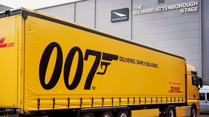 Licens att leverera: DHL i tjänst för den 25:e James Bond-filmen, No Time To Die