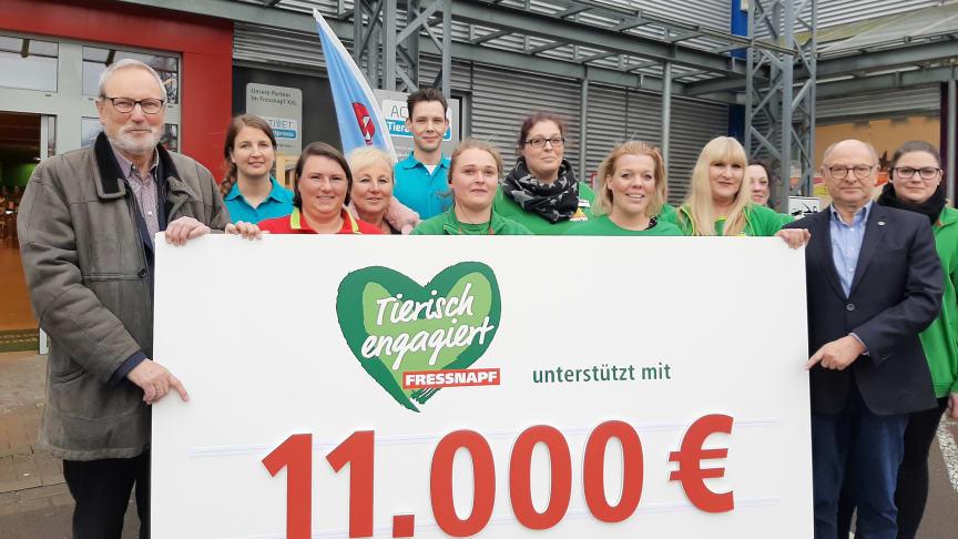 Spendenübergabe für die Zoofreunde Krefeld