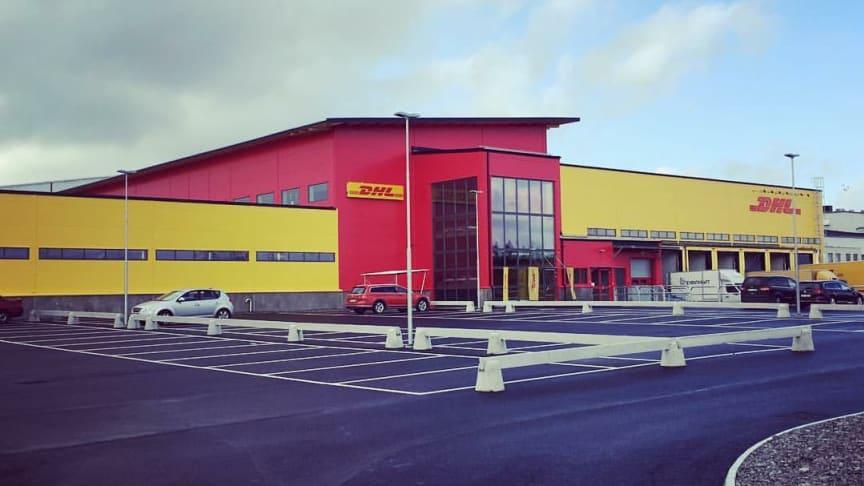DHL Express nya terminal på Landvetter flygplats