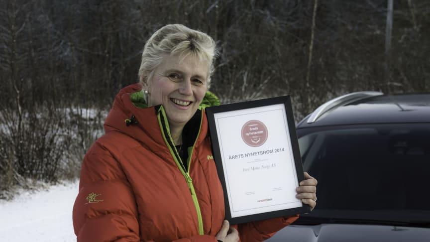 Anne Sønsteby, Informasjonsdirektør i Ford Motor Norge AS