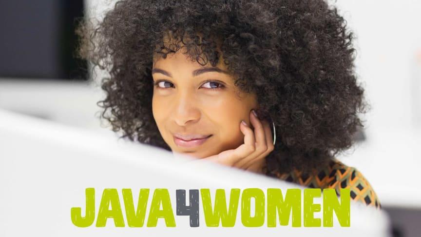 Java4women - unikt pilotprojekt som ökar antalet kvinnliga utvecklare inom IT