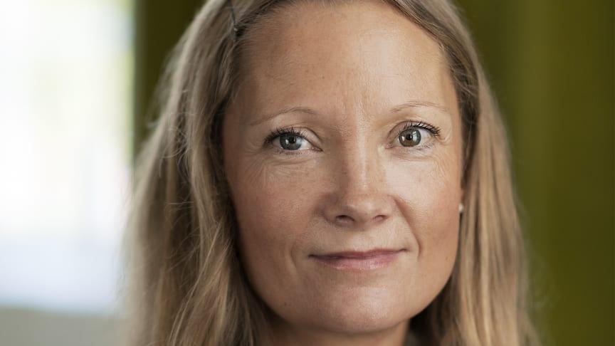 Anneli Jansson, Vd Humlegården Fastigheter. Foto: Jonas Malmström.
