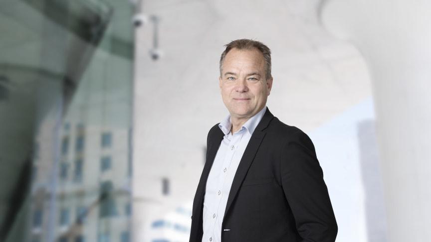 Joachim Källsholm, vd, Securitas Sverige AB kommenterar gårdagens skjutning mot väktare i Rinkeby. Foto: Securitas Sverige AB.