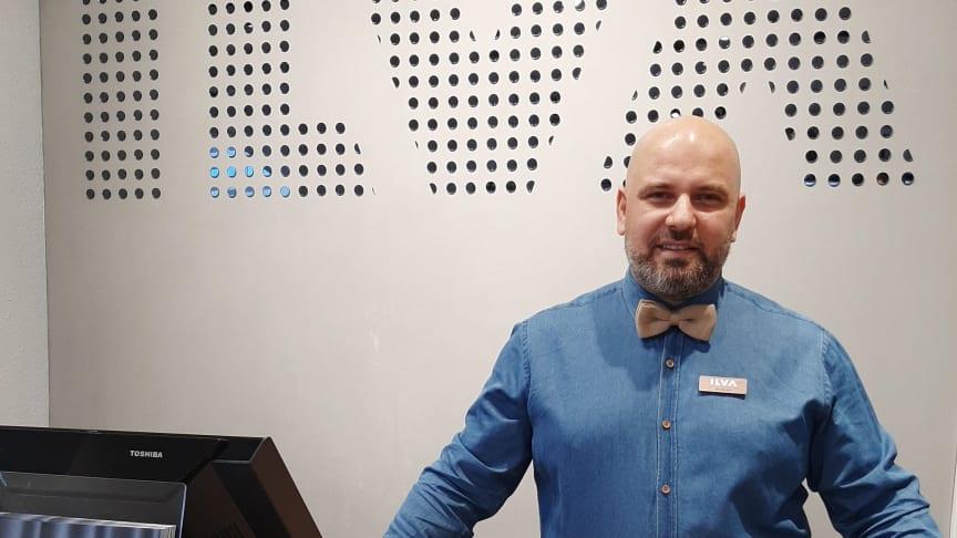 Butikschef Nicklas Pola ser frem til at byde bolighusets kunder velkommen i ILVA København.