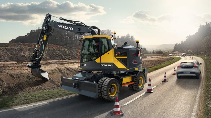 Volvo EWR150E – Steg IV-lösningen med den kortaste svängradien