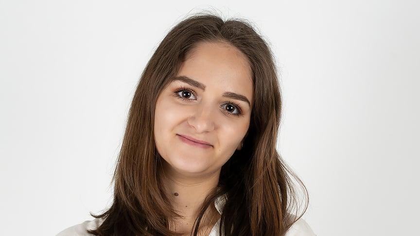 – Jag alltid vetat att jag skulle bli egenföretagare men aldrig fått en tillräckligt bra idé förrän idén med babysockarna, säger Celina Saffar.