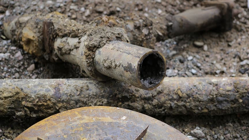 NSVA ber boende i Laröd, Hittarp och Domsten att minska sitt avloppsvatten under pågående ledningsarbete