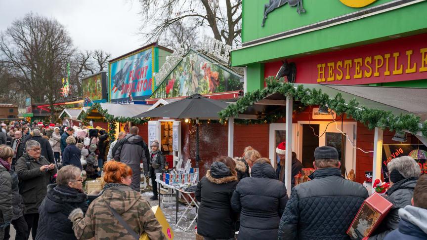 Julemarked og julestemning på Bakken