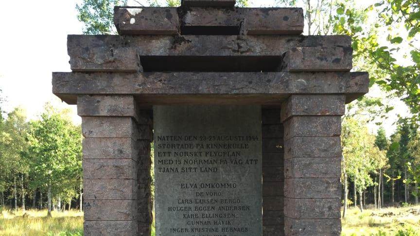 Krigsmonument på Kinnekulle