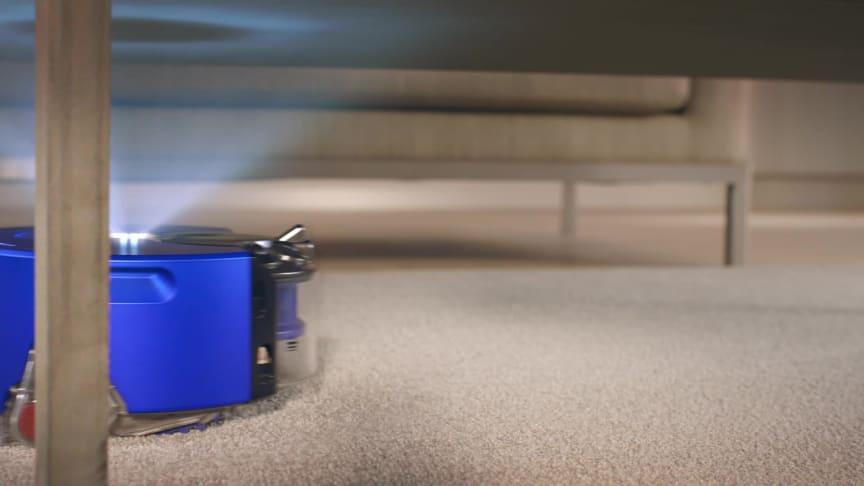 Dyson 360 Heurist: Findet sich auch bei schlechten Lichtverhältnissen zurecht