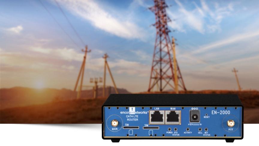 4G-router för privata LTE-nät
